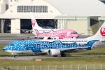 Koenig117さんが、那覇空港で撮影した日本トランスオーシャン航空 737-4Q3の航空フォト(写真)