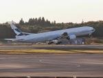 jjieさんが、成田国際空港で撮影したキャセイパシフィック航空 777-367の航空フォト(写真)