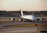 jjieさんが、成田国際空港で撮影したタイ国際航空 A380-841の航空フォト(写真)