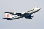 まいけるさんが、スワンナプーム国際空港で撮影したカーゴルクス 747-4R7F/SCDの航空フォト(写真)