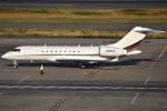 euro_r302さんが、羽田空港で撮影したネットジェット・インターナショナル BD-700-1A11 Global 5000の航空フォト(写真)