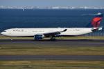 euro_r302さんが、羽田空港で撮影したデルタ航空 A330-302の航空フォト(写真)