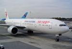 なないろさんが、ジョン・F・ケネディ国際空港で撮影した中国東方航空 777-39P/ERの航空フォト(写真)