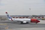 なないろさんが、ジョン・F・ケネディ国際空港で撮影したノルウェー・エア・インターナショナル 737-8JPの航空フォト(写真)