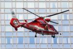 せぷてんばーさんが、アパホテル&リゾート東京ベイ幕張で撮影した千葉市消防航空隊 AS365N3 Dauphin 2の航空フォト(写真)