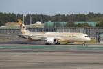 utarou on NRTさんが、成田国際空港で撮影したエティハド航空 787-9の航空フォト(写真)