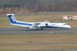 うすさんが、新千歳空港で撮影したANAウイングス DHC-8-402Q Dash 8の航空フォト(写真)