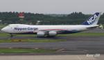 RINA-200さんが、成田国際空港で撮影した日本貨物航空 747-8KZF/SCDの航空フォト(写真)