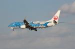 Koenig117さんが、那覇空港で撮影した日本トランスオーシャン航空 737-8Q3の航空フォト(写真)