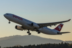 岡崎美合さんが、チューリッヒ空港で撮影したスイスインターナショナルエアラインズ A330-343Xの航空フォト(写真)