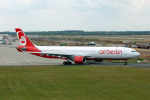 Gambardierさんが、デュッセルドルフ国際空港で撮影したエア・ベルリン A330-322の航空フォト(写真)