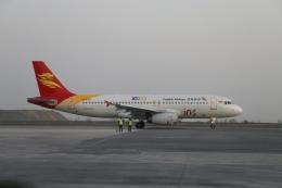 TAOTAOさんが、ウルムチ地窩堡国際空港で撮影した北京首都航空 A320-232の航空フォト(飛行機 写真・画像)