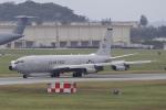 DBACKさんが、嘉手納飛行場で撮影したアメリカ空軍 E-8C J-Stars (707-300C)の航空フォト(写真)