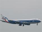 goshiさんが、香港国際空港で撮影したカーゴロジックエア 747-83QFの航空フォト(写真)