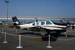T.Sazenさんが、神戸空港で撮影した日本個人所有 A36 Bonanza 36の航空フォト(飛行機 写真・画像)