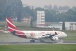 reonさんが、シンガポール・チャンギ国際空港で撮影したモーリシャス航空 A330-202の航空フォト(写真)