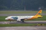 reonさんが、シンガポール・チャンギ国際空港で撮影したセブパシフィック航空 A320-214の航空フォト(写真)