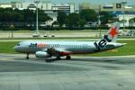 reonさんが、シンガポール・チャンギ国際空港で撮影したジェットスター・アジア A320-232の航空フォト(写真)
