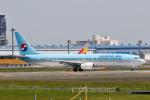 panchiさんが、成田国際空港で撮影した大韓航空 737-9B5の航空フォト(飛行機 写真・画像)