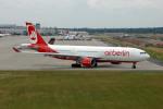 Gambardierさんが、デュッセルドルフ国際空港で撮影したエア・ベルリン A330-223の航空フォト(写真)