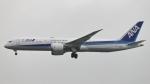 誘喜さんが、香港国際空港で撮影した全日空 787-9の航空フォト(写真)
