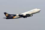 まいけるさんが、スワンナプーム国際空港で撮影したUPS航空 747-44AF/SCDの航空フォト(写真)