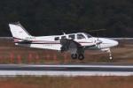 撮り撮り人さんが、岡山空港で撮影した朝日航空 Baron G58の航空フォト(写真)