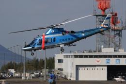 ぽんさんが、高松空港で撮影した広島県警察 A109E Powerの航空フォト(写真)