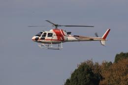 ぽんさんが、高松空港で撮影した朝日航洋 AS350B3 Ecureuilの航空フォト(写真)