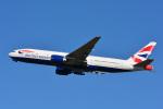 パンダさんが、成田国際空港で撮影したブリティッシュ・エアウェイズ 777-236/ERの航空フォト(写真)