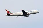 まいけるさんが、スワンナプーム国際空港で撮影したスリランカ航空 A320-214の航空フォト(写真)