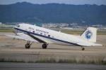 キイロイトリ1005fさんが、関西国際空港で撮影したBELL GEOSPACE DC-3Cの航空フォト(写真)