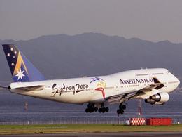 関西国際空港 - Kansai International Airport [KIX/RJBB]で撮影されたアンセット・オーストラリア航空 - Ansett Australia [AN/AAA]の航空機写真