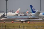msrwさんが、成田国際空港で撮影したビスタジェット BD-700-1A10 Global 6000の航空フォト(写真)