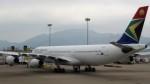 westtowerさんが、香港国際空港で撮影した南アフリカ航空 A340-313Xの航空フォト(写真)