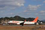 musashiさんが、松山空港で撮影したチェジュ航空 737-8ASの航空フォト(写真)
