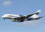 voyagerさんが、ロンドン・ヒースロー空港で撮影したマレーシア航空 A380-841の航空フォト(飛行機 写真・画像)