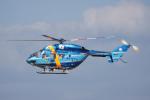 神宮寺ももさんが、高松空港で撮影した熊本県警察 BK117B-2の航空フォト(写真)