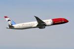 まいけるさんが、スワンナプーム国際空港で撮影したノルウェー・エアシャトル・ロングホール 787-9の航空フォト(写真)