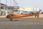 ピーチさんが、岡山空港で撮影したオールラウンドヘリコプター AS350B Ecureuilの航空フォト(写真)