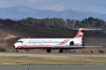 falconさんが、秋田空港で撮影した遠東航空 MD-83 (DC-9-83)の航空フォト(写真)