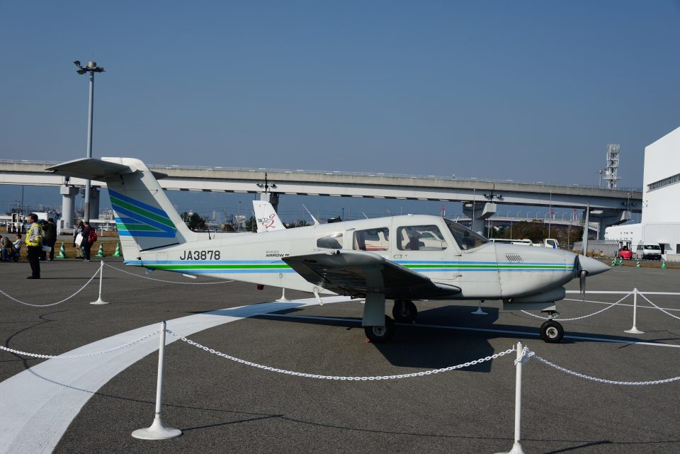 T.Sazenさんの日本個人所有 Piper PA-28 Cherokee (JA3878) 航空フォト