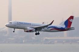 YASKYさんが、香港国際空港で撮影したネパール航空 A320-233の航空フォト(飛行機 写真・画像)