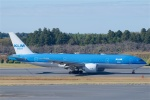 goshiさんが、成田国際空港で撮影したKLMオランダ航空 777-206/ERの航空フォト(写真)