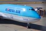 goshiさんが、成田国際空港で撮影した大韓航空 747-8B5の航空フォト(写真)