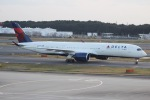 mototripさんが、成田国際空港で撮影したデルタ航空 A350-941XWBの航空フォト(写真)
