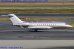 Chofu Spotter Ariaさんが、羽田空港で撮影したビスタジェット BD-700-1A10 Global 6000の航空フォト(写真)