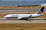 yabyanさんが、中部国際空港で撮影したコンチネンタル航空 737-824の航空フォト(飛行機 写真・画像)