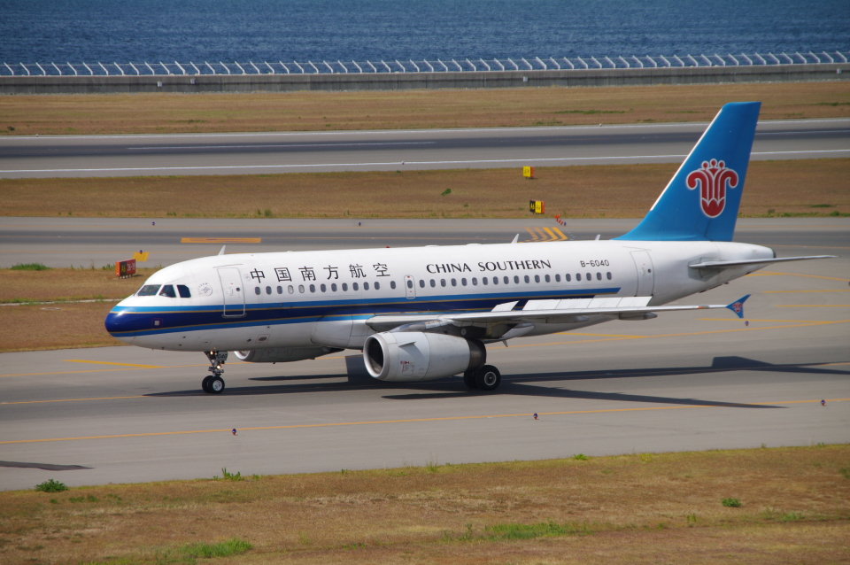yabyanさんの中国南方航空 Airbus A319 (B-6040) 航空フォト