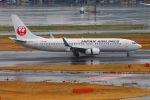 Tomo_lgmさんが、羽田空港で撮影した日本航空 737-846の航空フォト(写真)